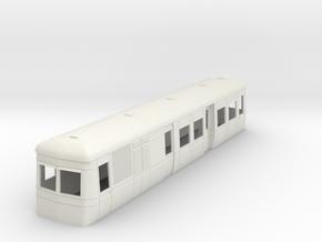 On16.5 Freelance AW railcar body  in White Natural Versatile Plastic