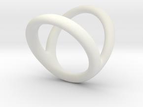 Ring 3 for fergacookie D1 1 1-2 D2 3 Len 17 in White Premium Strong & Flexible