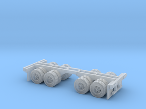 duel axle wheel set Z scale in Smooth Fine Detail Plastic