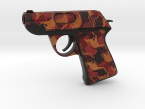 TF2 Life sized scout pistol (decorated) in Full Color Sandstone