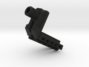 We17 mounting kit 14mm ccw + rail in Black Natural Versatile Plastic