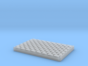 Medium Dog Bed various scales in Smooth Fine Detail Plastic: 1:12