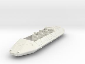 AC15 Air/Raft 7 Passenger (28mm) in White Natural Versatile Plastic