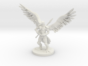 Aarakocra Bard in White Strong & Flexible