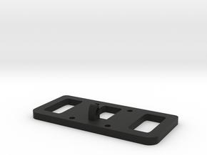 Mavic Pro/Platinum Tablet Mount v4 top in Black Natural Versatile Plastic