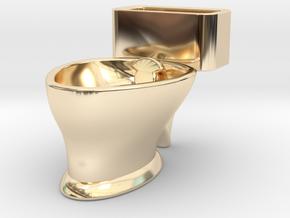 """Loo"" coffee cup in 14K Yellow Gold"