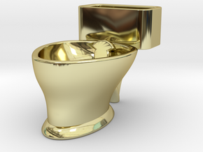 """Loo"" coffee cup in 18K Gold Plated"