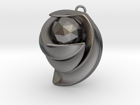 ExcelateB in Polished Nickel Steel: Small