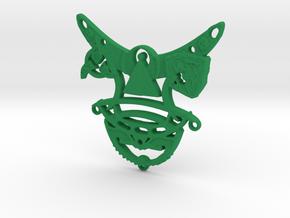 Romulan Child's Talisman in Green Processed Versatile Plastic