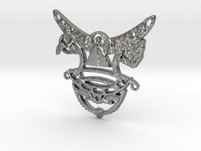 Romulan Child's Talisman in Natural Silver