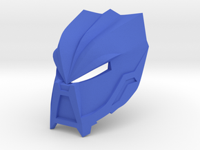 Noble Kanohi Avsa - Mask of Hunger (unmutated) in Blue Processed Versatile Plastic
