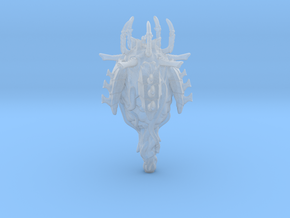 Alien Bug Spore Pod in Smooth Fine Detail Plastic