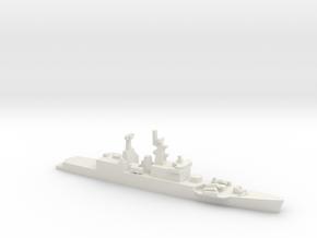 Godavari-class frigate, 1/2400 in White Natural Versatile Plastic