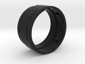 Custom Chassis V1 28mm Speaker Adapter PART 2/2 in Black Premium Strong & Flexible