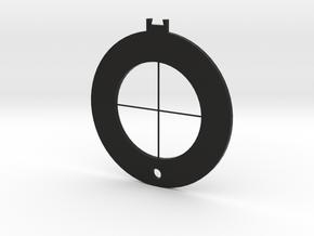Multi-layer Star light Filter-filter_cross in Black Natural Versatile Plastic