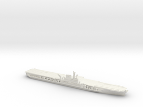 USS Midway 1/600 in White Natural Versatile Plastic