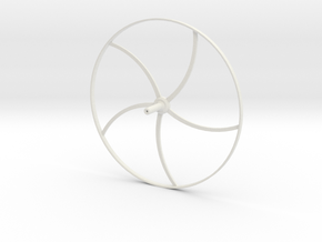 Ruota Minidrone - Minidrones wheel in White Natural Versatile Plastic