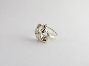 Monera Ring in Polished Silver: 6.5 / 52.75