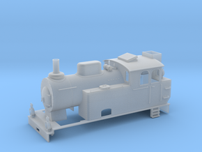 0m SJ K22 loco (B) in Smooth Fine Detail Plastic: 1:45