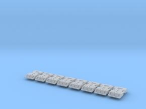 1:50 Fußplatte in Smooth Fine Detail Plastic