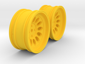 Wheels - 26mm Touring - Alfa 2000 GTAM +6mm Offset in Yellow Strong & Flexible Polished