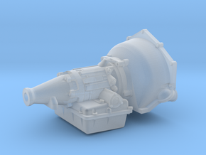 Powerglide 1/25 short tailshaft in Smooth Fine Detail Plastic