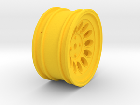 Wheel - 26mm Touring - Alfa 2000 GTAM +3mm Offset in Yellow Strong & Flexible Polished