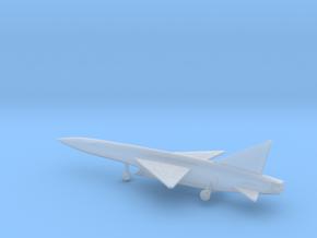 Republic XF-103 Thunderwarrior in Smooth Fine Detail Plastic: 6mm