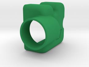 KregDustShroud (Festool - left handed) in Green Processed Versatile Plastic