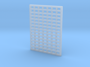 Bubblenose Pete Grill Grate style 1/64 in Smooth Fine Detail Plastic