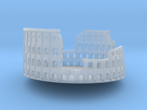 Ancient Colloseum in Smooth Fine Detail Plastic: Medium
