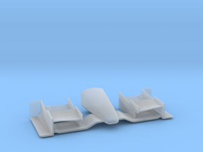 1/43 Indy Car Front_Wing for Diorama in Smooth Fine Detail Plastic