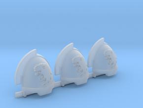 Commission 8 Gravus shoulder pads x3 in Smooth Fine Detail Plastic