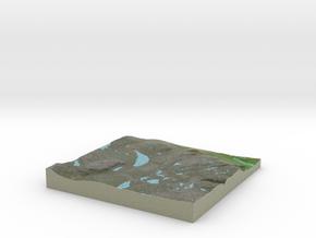 Terrafab generated model Thu Jun 29 2017 23:05:21  in Full Color Sandstone