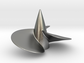 Single left hand ship propeller f. Bismarck/Tirpi in Natural Silver