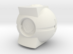 Monument4 in White Natural Versatile Plastic: Small