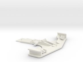 MC3 KMD-FR01 Front Bumper Wide Version in White Natural Versatile Plastic