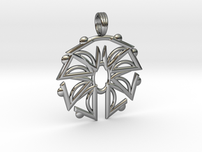 HIGH ELEVATION in Fine Detail Polished Silver