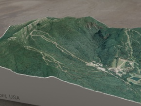 Mt. Mansfield, Vermont, USA, 1:25000 Explorer in Full Color Sandstone