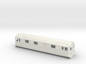 Swedish SJ electric locomotive type Dg2 - H0-scale in White Natural Versatile Plastic