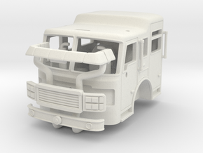 1/64 ALF Eagle cab no AC unit in White Strong & Flexible