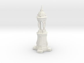 Printle Thing Paris Fontaine Wallace - 1/24 in White Natural Versatile Plastic