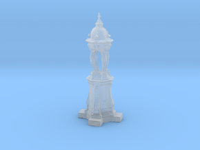 Printle Thing Paris Fontaine Wallace - 1/72 in Smooth Fine Detail Plastic