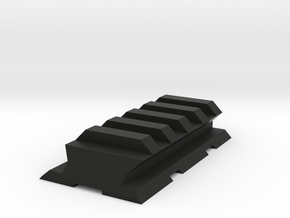 VZ61 Upper Picatinny Rail in Black Natural Versatile Plastic