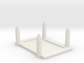 Raspberry Pi, Beagle Bone Black Rack in White Natural Versatile Plastic