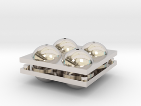 Sphere Mold Tray in Platinum