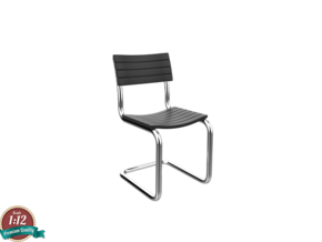 Miniature S40 Chair - Thonet in White Natural Versatile Plastic: 1:12