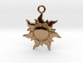 Corona in Polished Brass