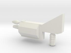 bot munchers gun for Transformers TR Sharkticon in White Strong & Flexible