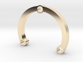 R-type 66 Round in 14K Yellow Gold